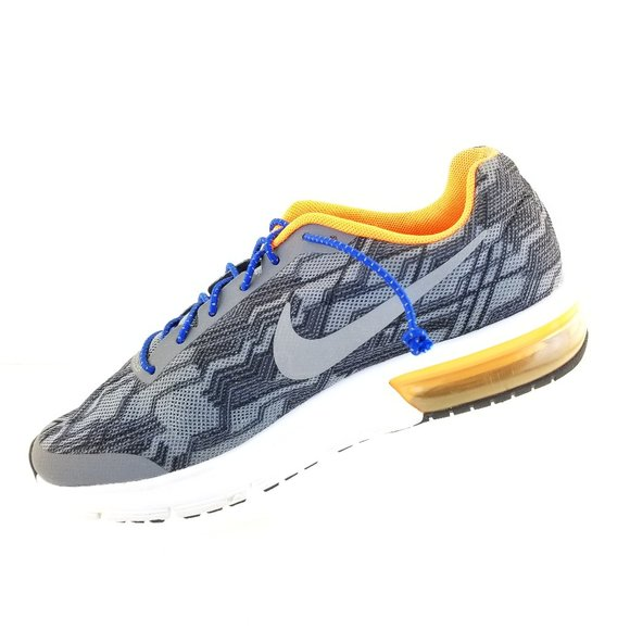 Girls Boys Juniors NIKE AIR MAX SEQUENT PRINT GS Trainers 820329 003
